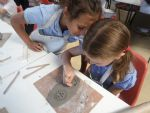Year 3 Burghley Sculpture Day