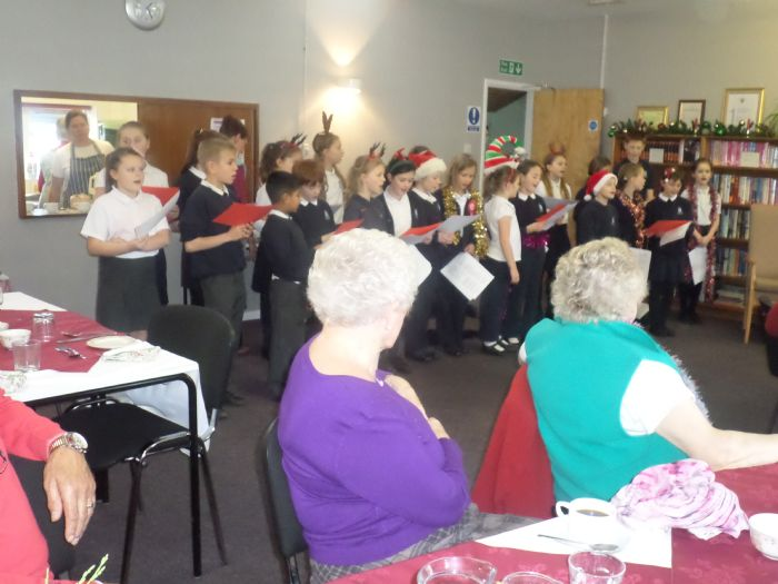 christmas choir sing at st clements